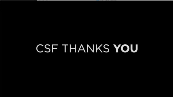 CSF Thanks You