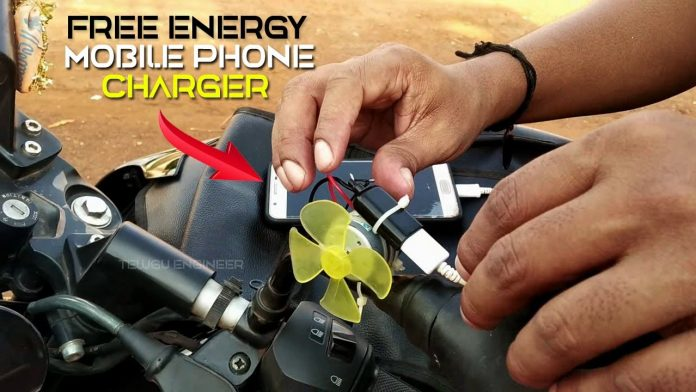 How to Make Free Energy Mobile Phone Charger in Bike 2020 (Using DC Motor ) | 100% Working