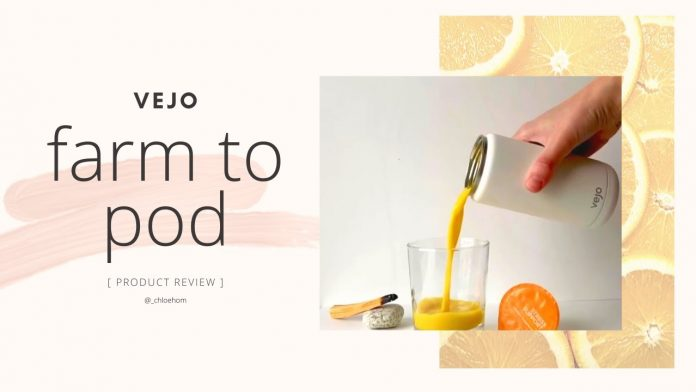 Vejo - Unbox & Review: The Perfect Eco-Friendly Travel Blender