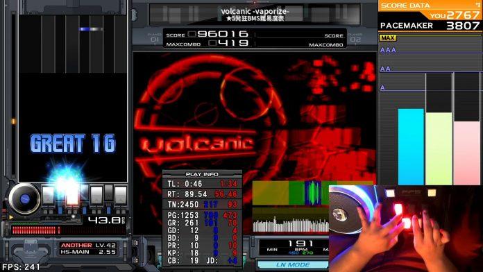 ★5 volcanic -vaporize- HARD CLEAR AA