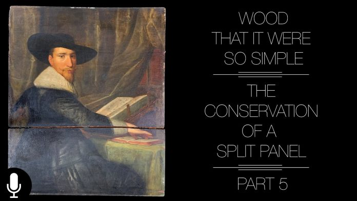 Wood That It Were So Simple: Conserving a Split Panel Painting Part 5