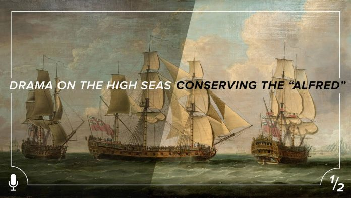 "Drama On The High Seas - Conserving The ""Alfred"""