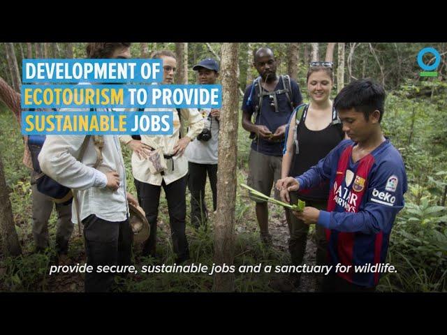 Wildlife Sanctuary Creates Sustainable Jobs in Cambodia