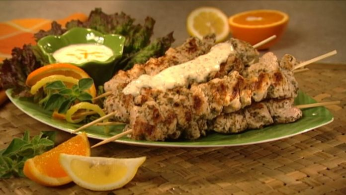 Wild Recipes - Grilled Turkey with Lemon Sauce