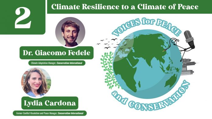 Voices for Peace and Conservation Podcast: Episode 2 - Climate Resilience to a Climate of Peace
