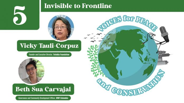 Voices for Peace and Conservation Podcast: Episode 5 - Invisible to Frontline